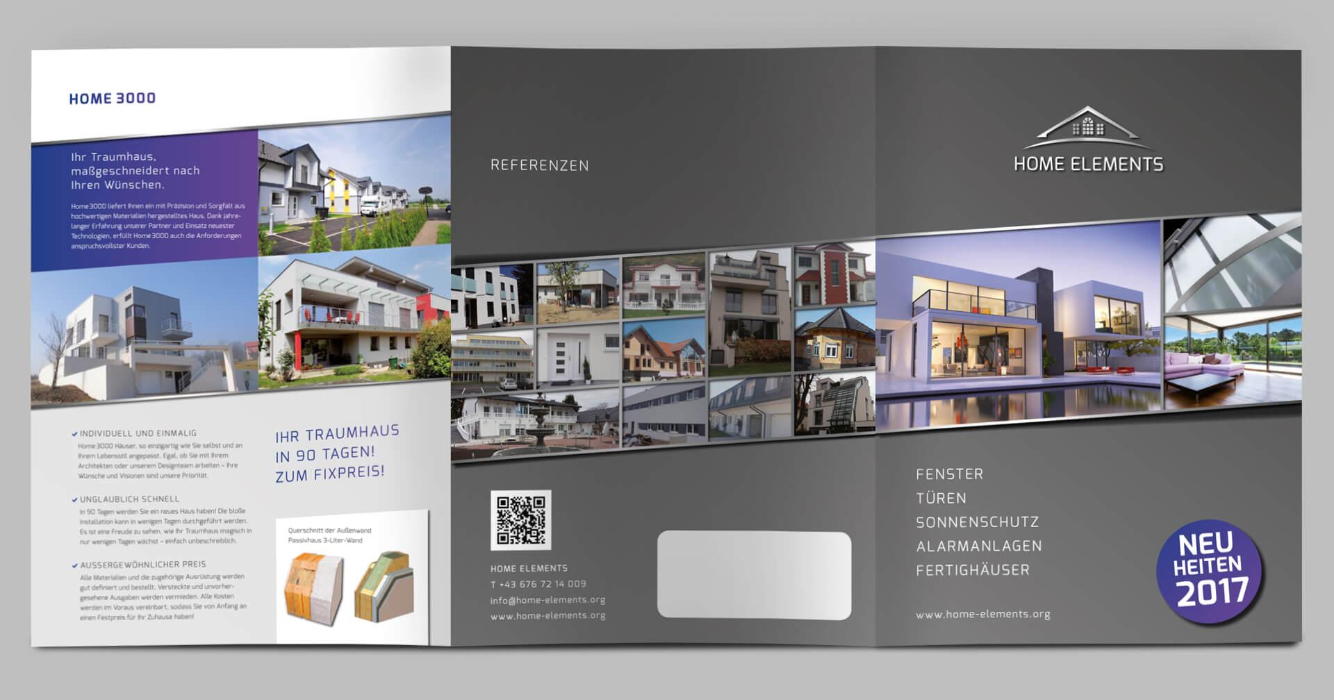 Home Elements Folder von aussen