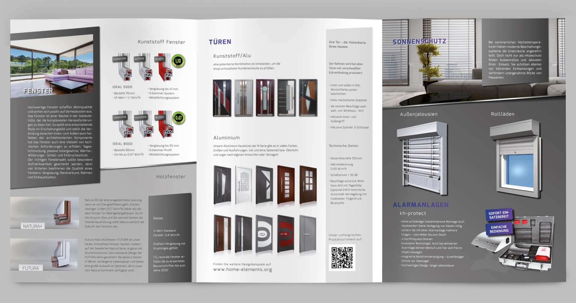 Home Elements Folder von innen