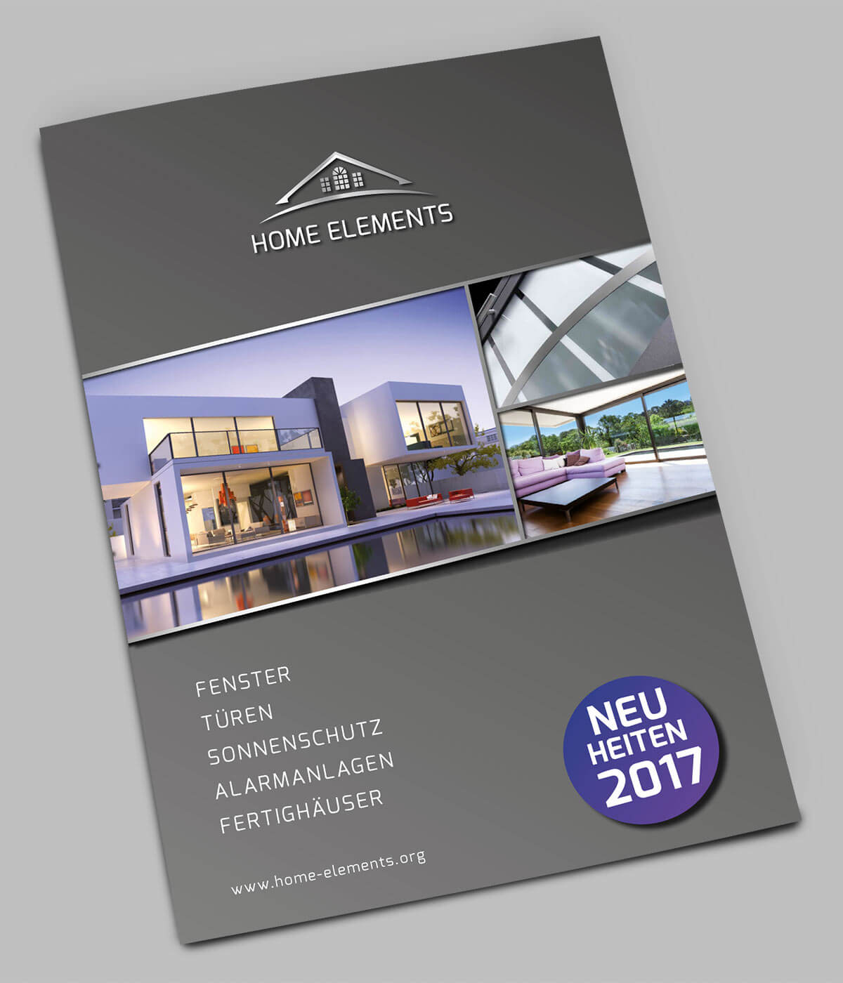 Home Elements Folder Cover