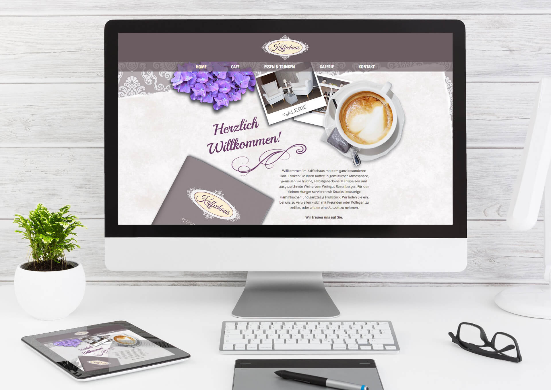 Kaffeehaus Website