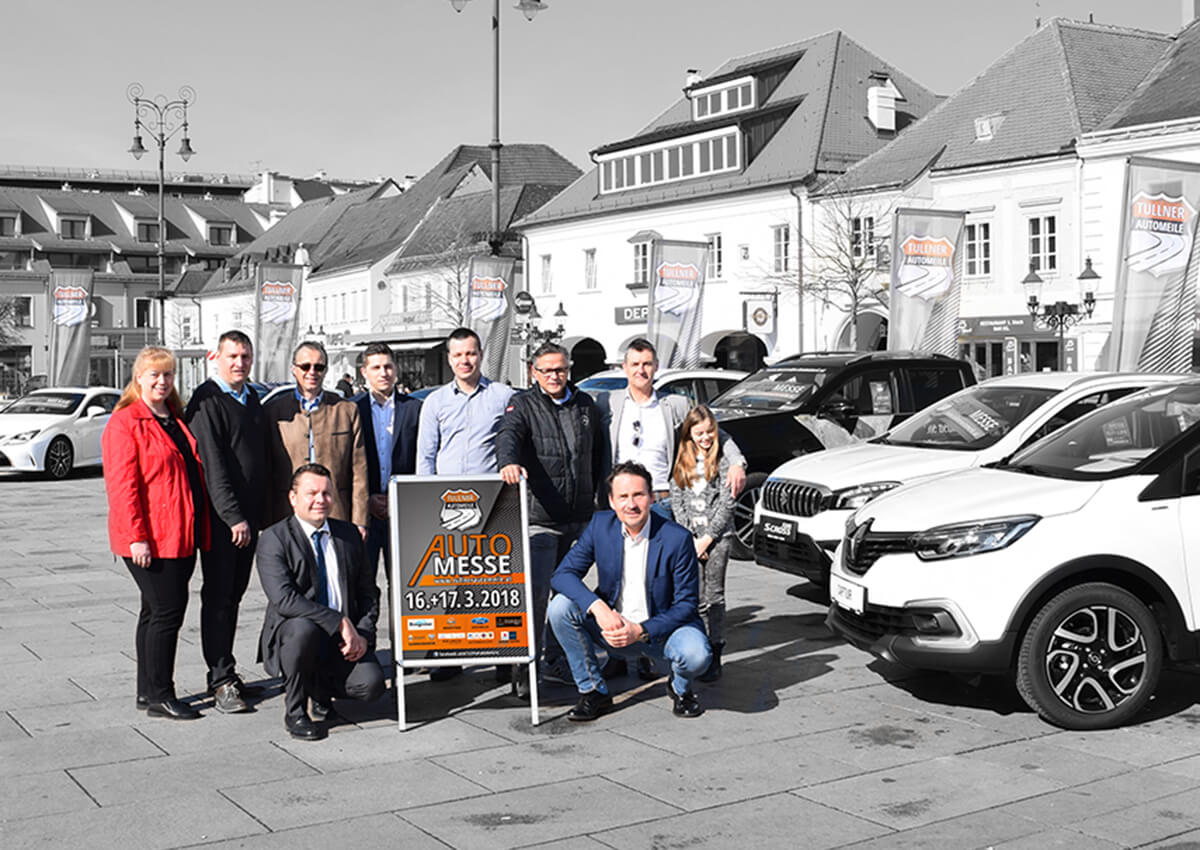 Tullner Automeile Promotion am Hauptplatz
