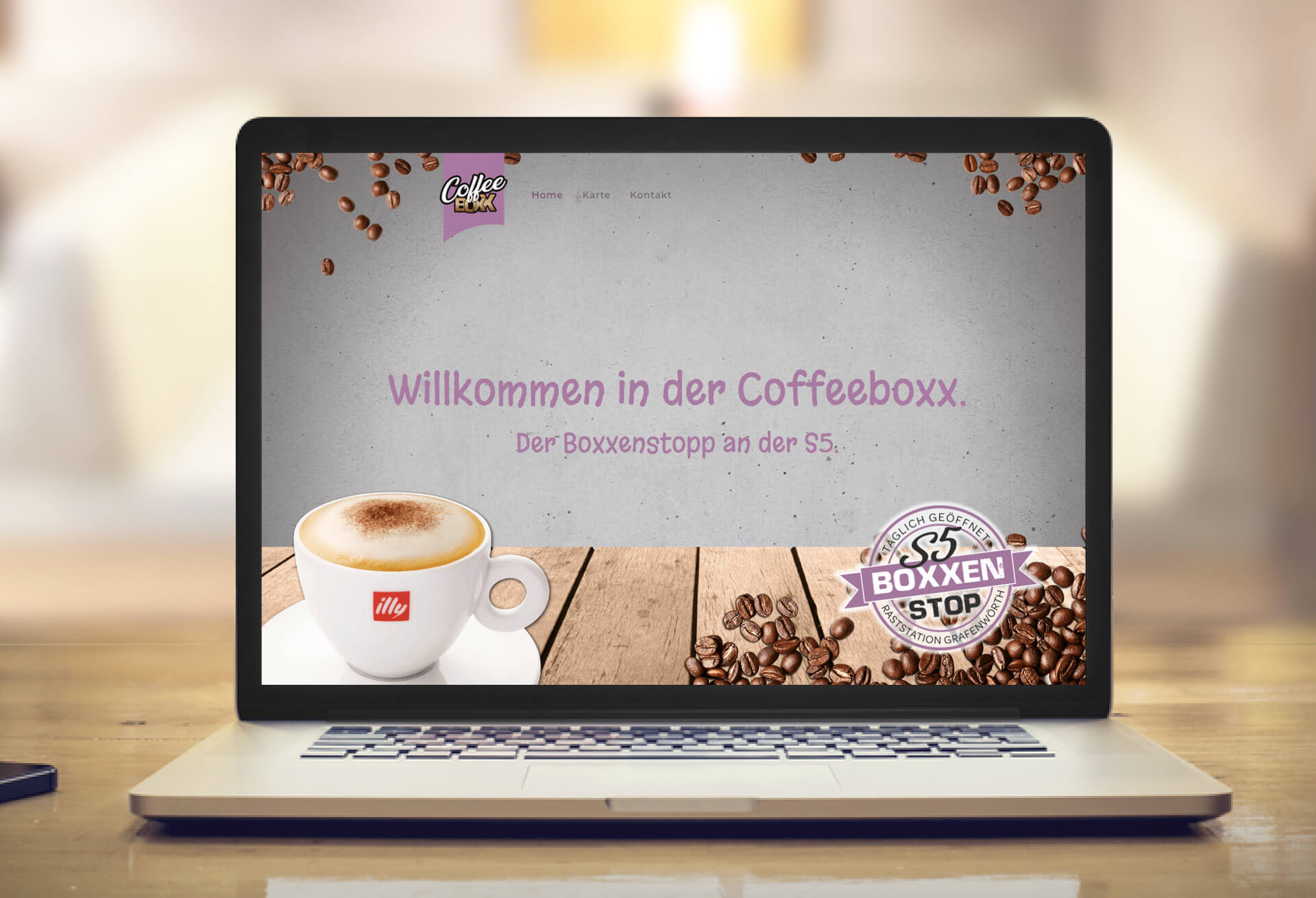 Coffeeboxx Website